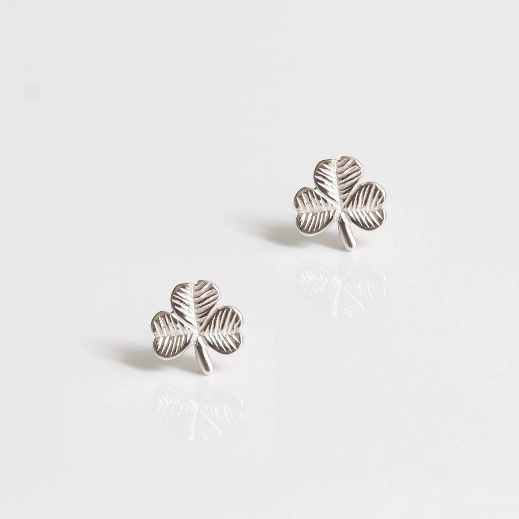 Clover Power Stud Earrings