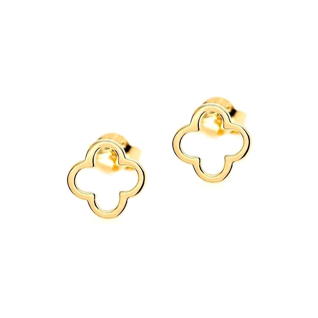 Clover Style Stud Earrings