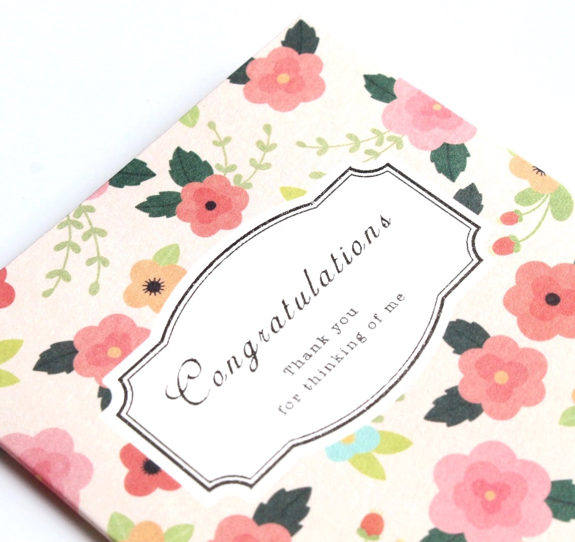 Congratulations Card (small)
