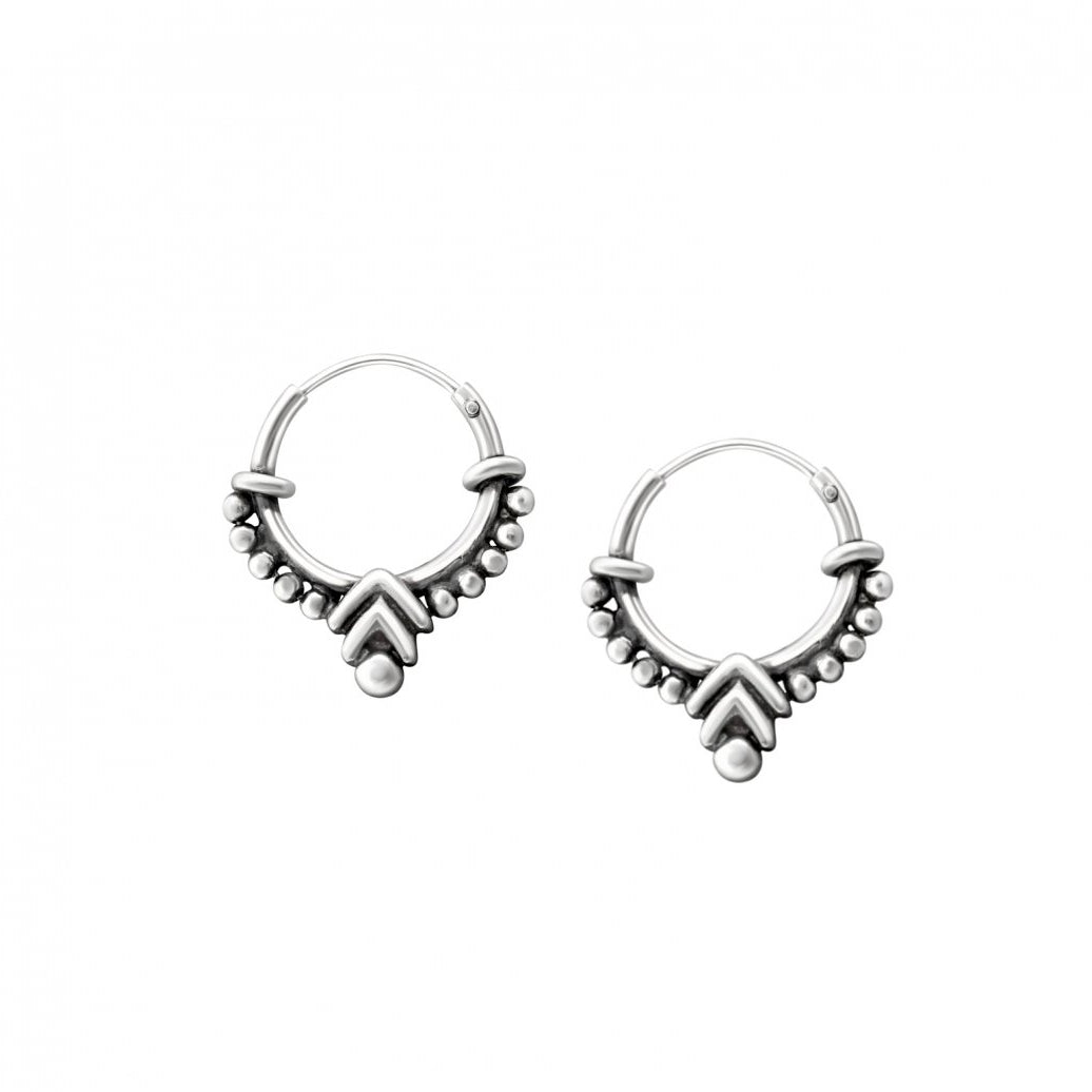 Dewi De Hoop Earrings