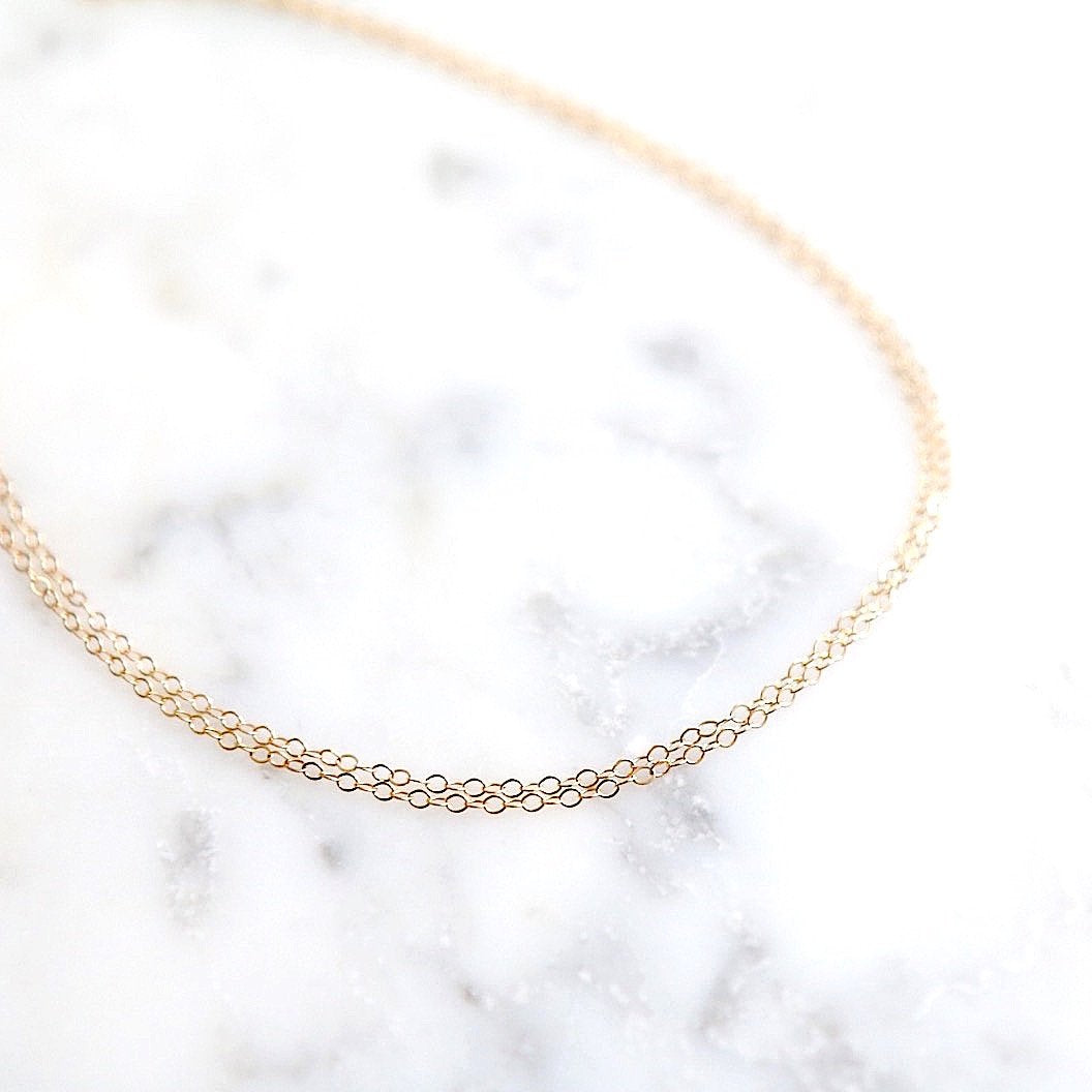 Double Chain Anklet