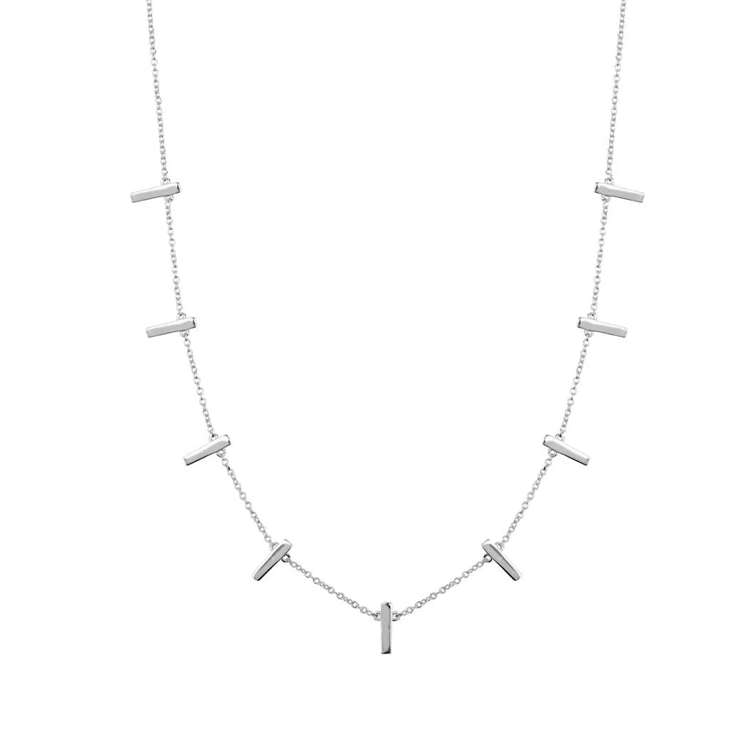 Neuve Bar Charm Necklace