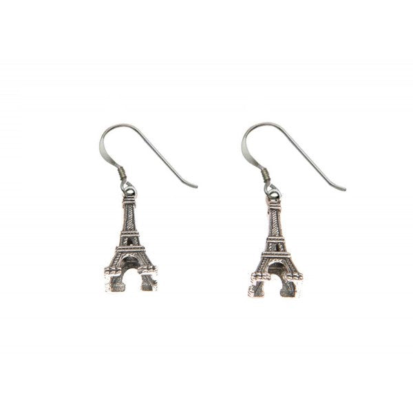 Eiffel Tower Dangle Earrings