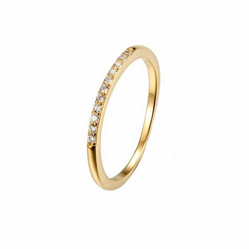 Eternity CZ Ring Gold