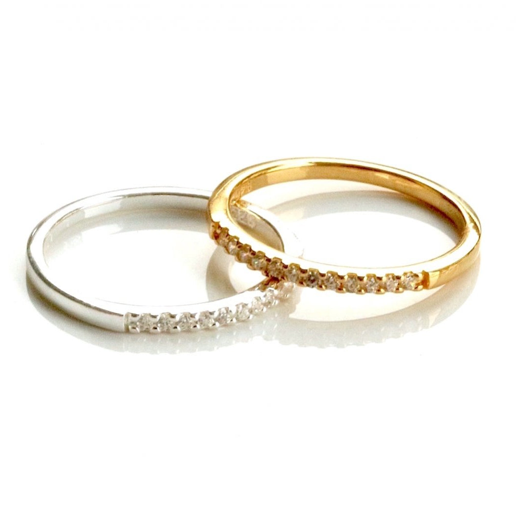 Eternity Ring Gold