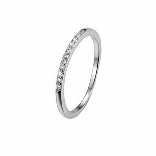 Eternity CZ Ring Silver