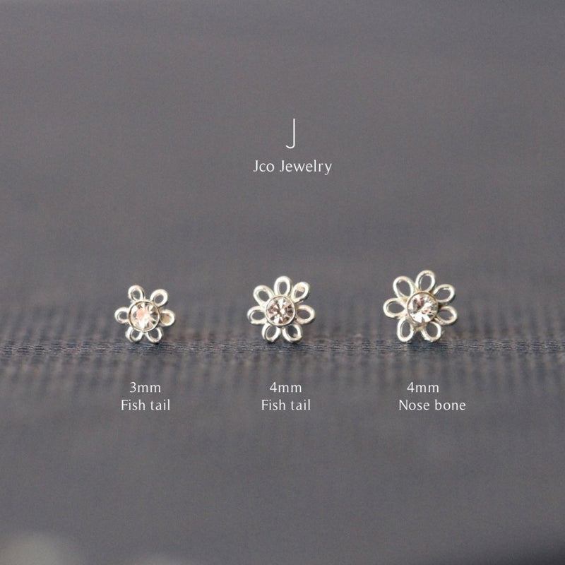 Flower Nose Stud