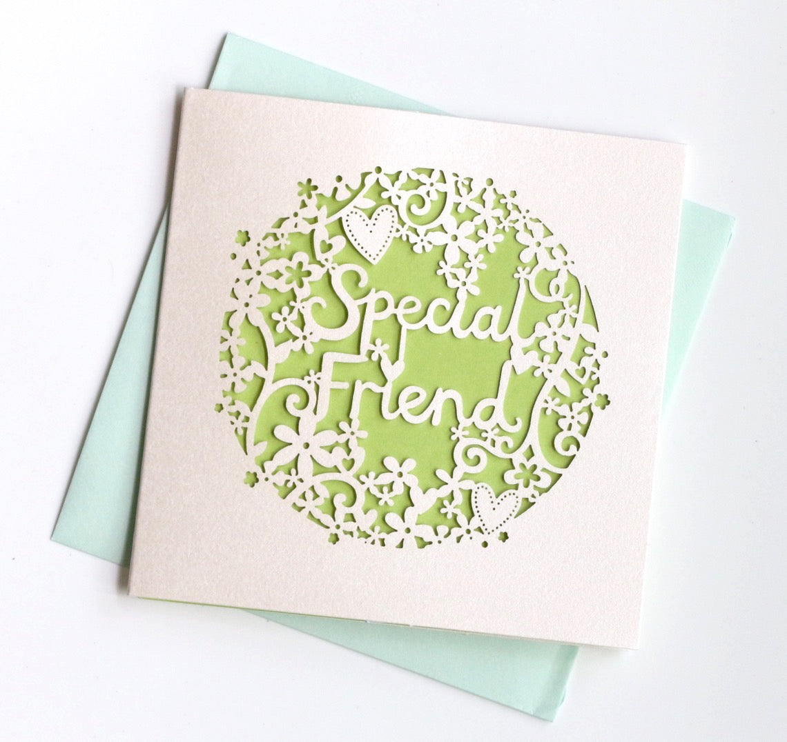 Special Friend Card Mini