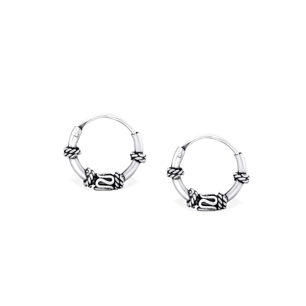 Hippie Hoop Earrings