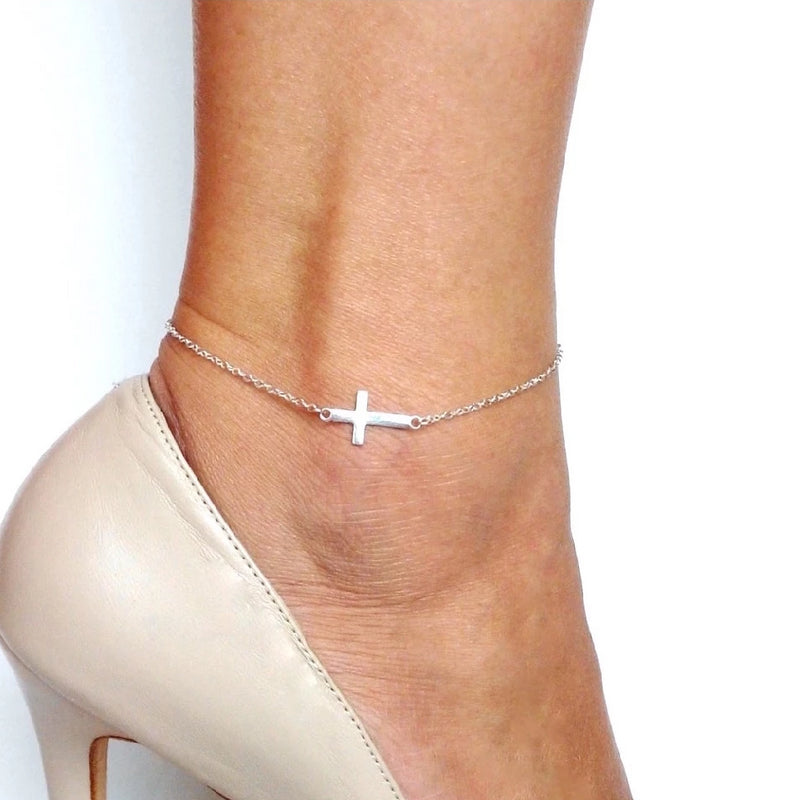 Holy Cross Anklet
