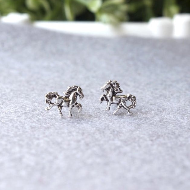 Horse Stud Earrings