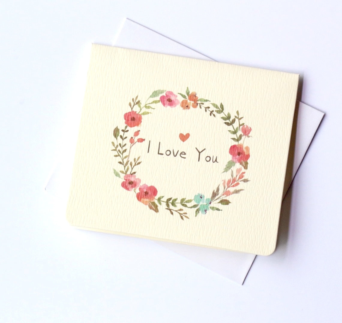 I Love you Card Mini