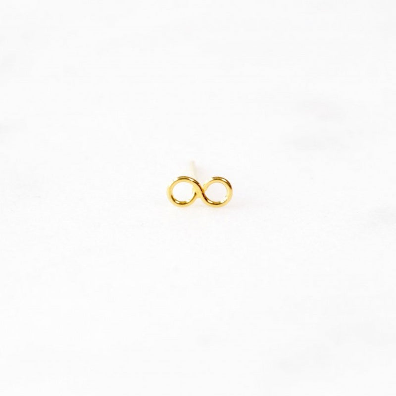 Infinity Gold Nose Stud