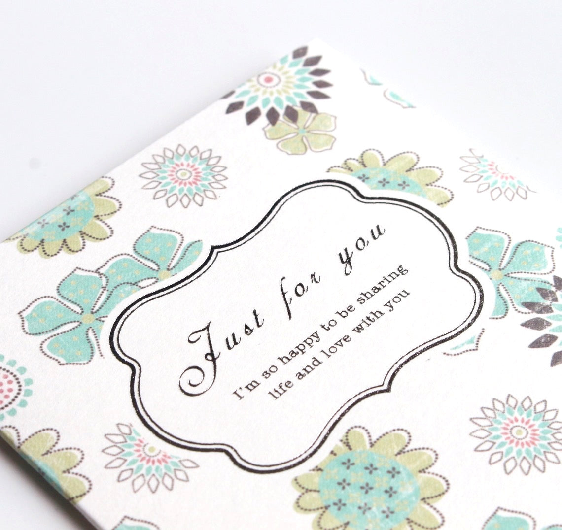 Just for you Card (small)