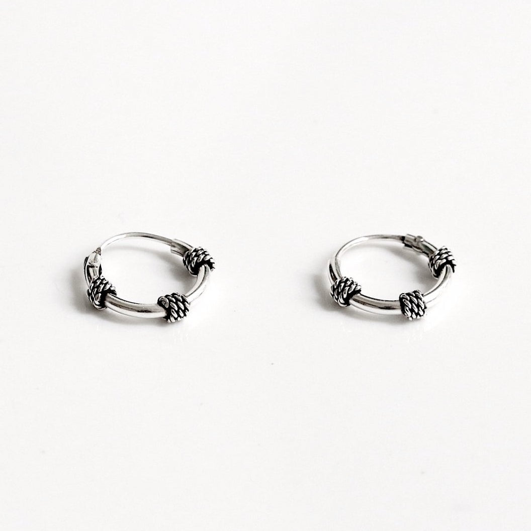 Kawi Bali Hoop Earrings