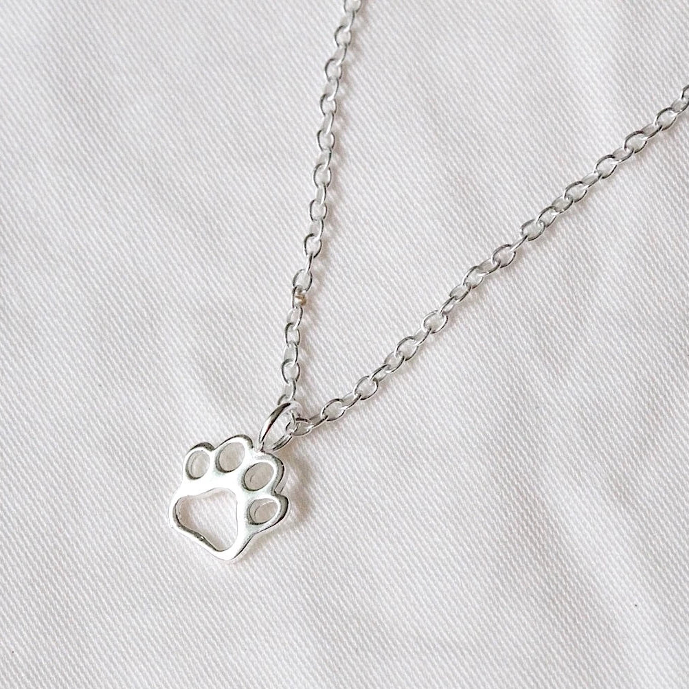 Little Paw Print Necklace