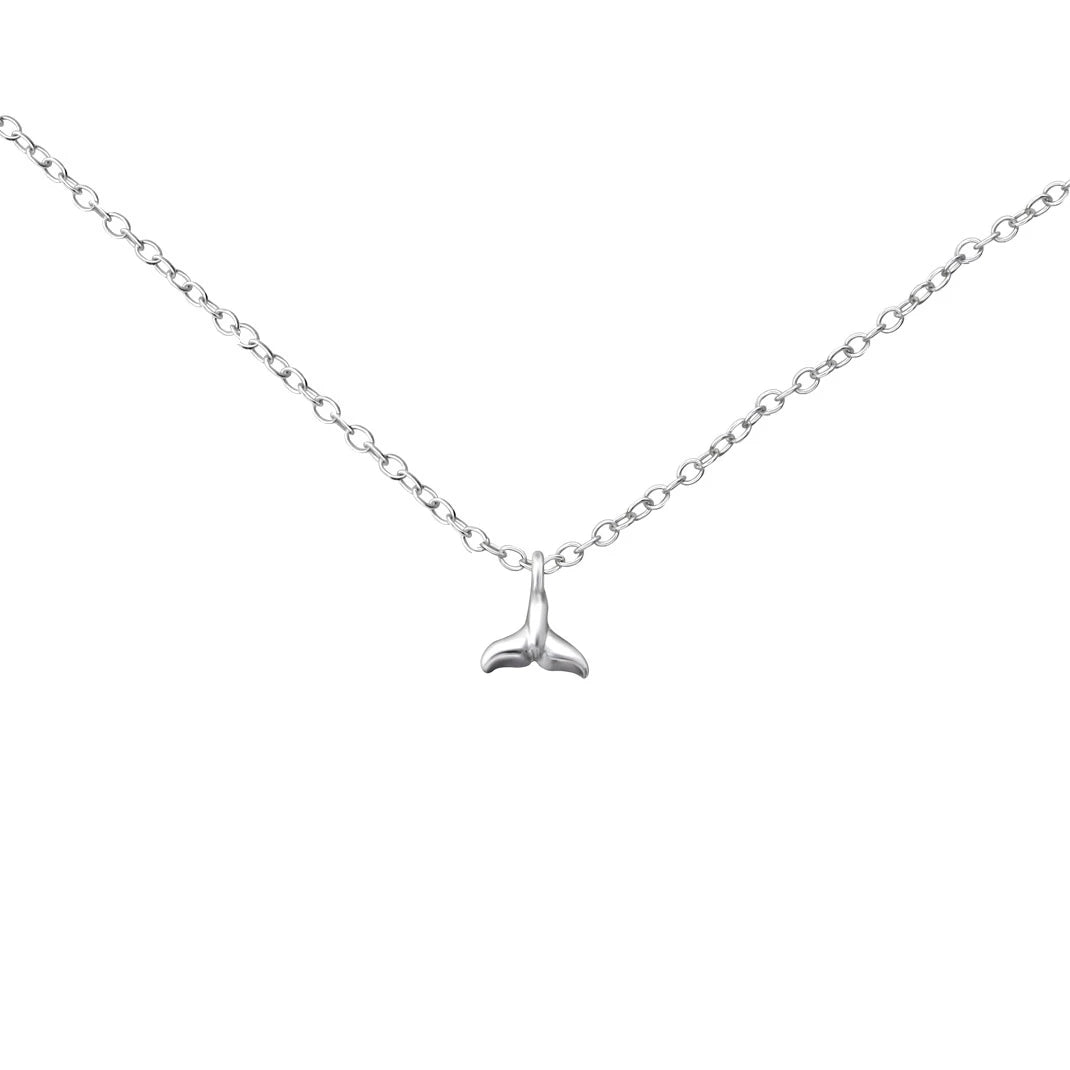 Little Whale Tail Necklace