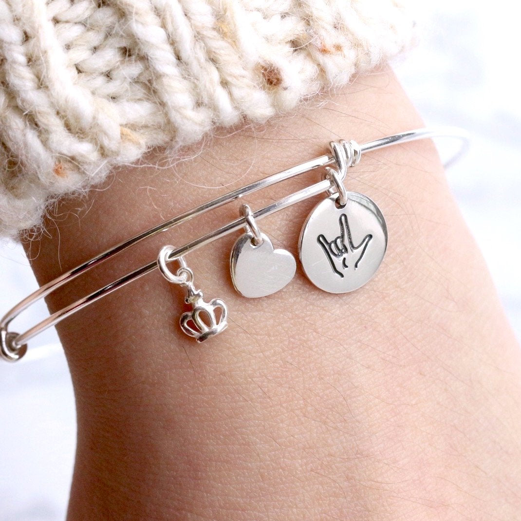 Love You Cuff Bangle