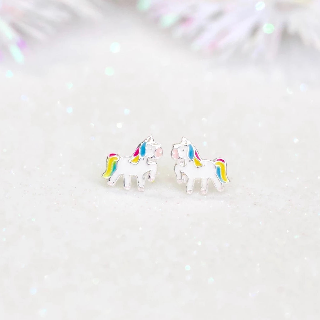 Magic Unicorn Stud Earrings