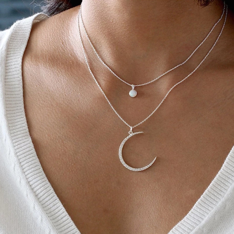Moon Phase Lux Necklace