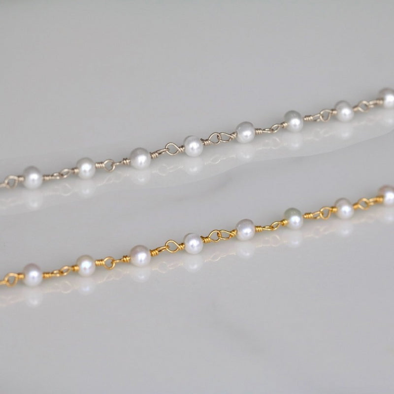 Pearly Ball Anklet