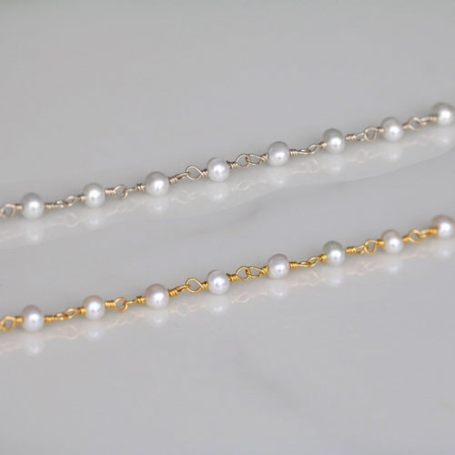 Pearly Choker Necklace