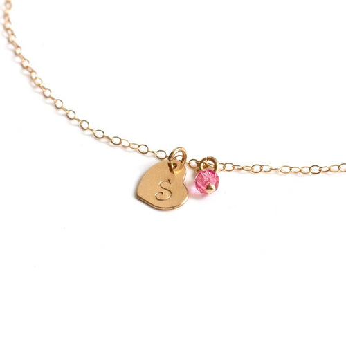 Personalised Heart Bracelet