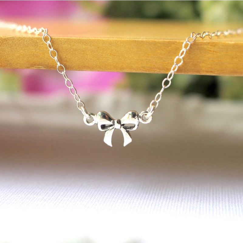 Pretty Bow Anklet