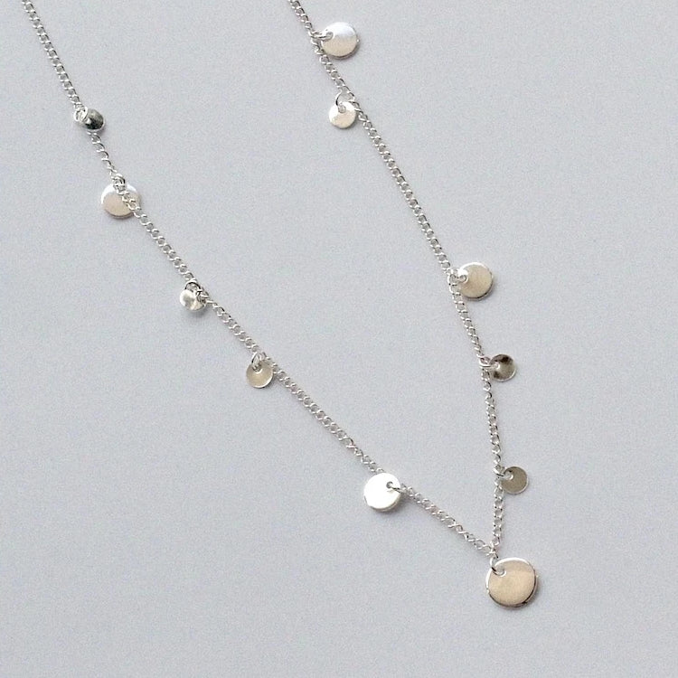 Ripple Charm Necklace