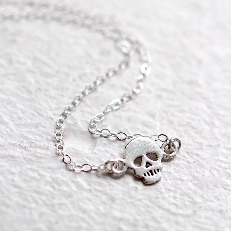 Skull Goth Necklace