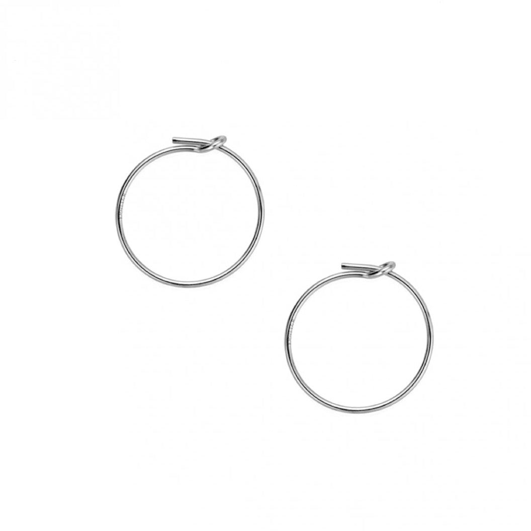 Sleeper Hoop Earrings