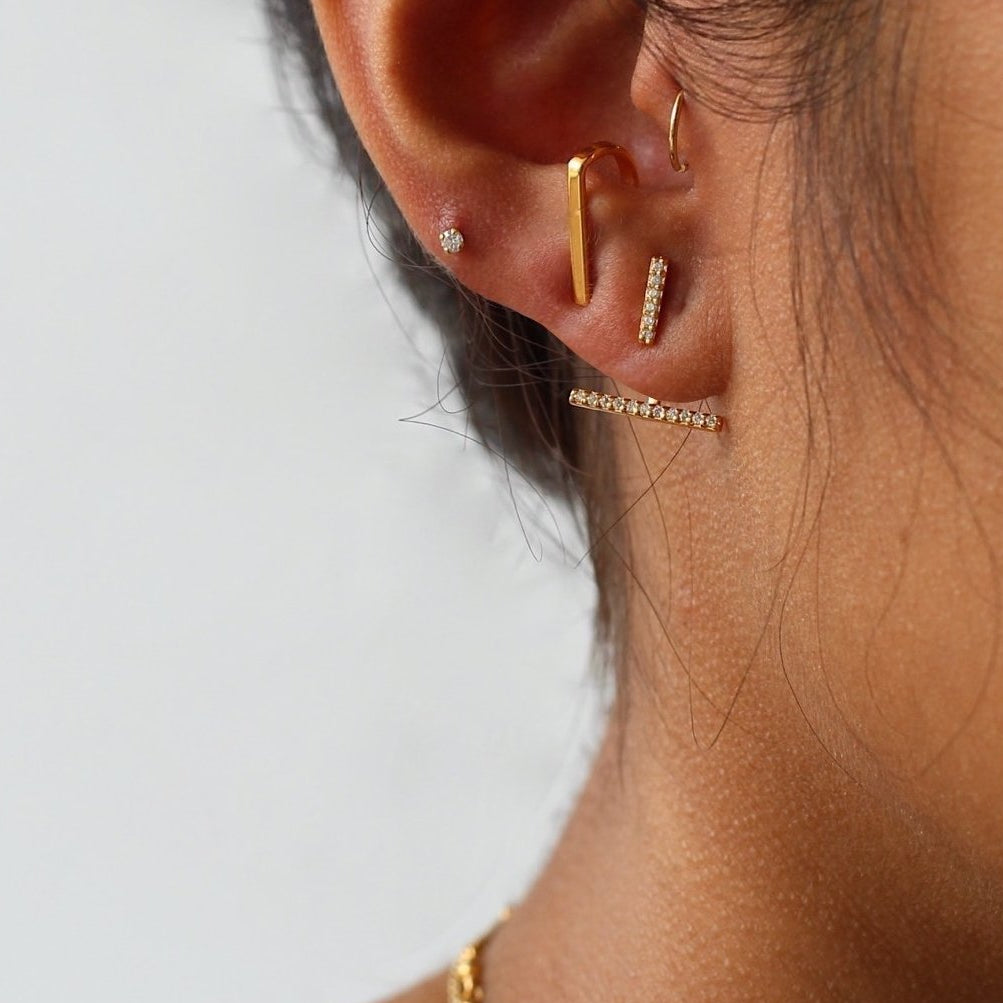 Sparkle Bar Ear Jacket