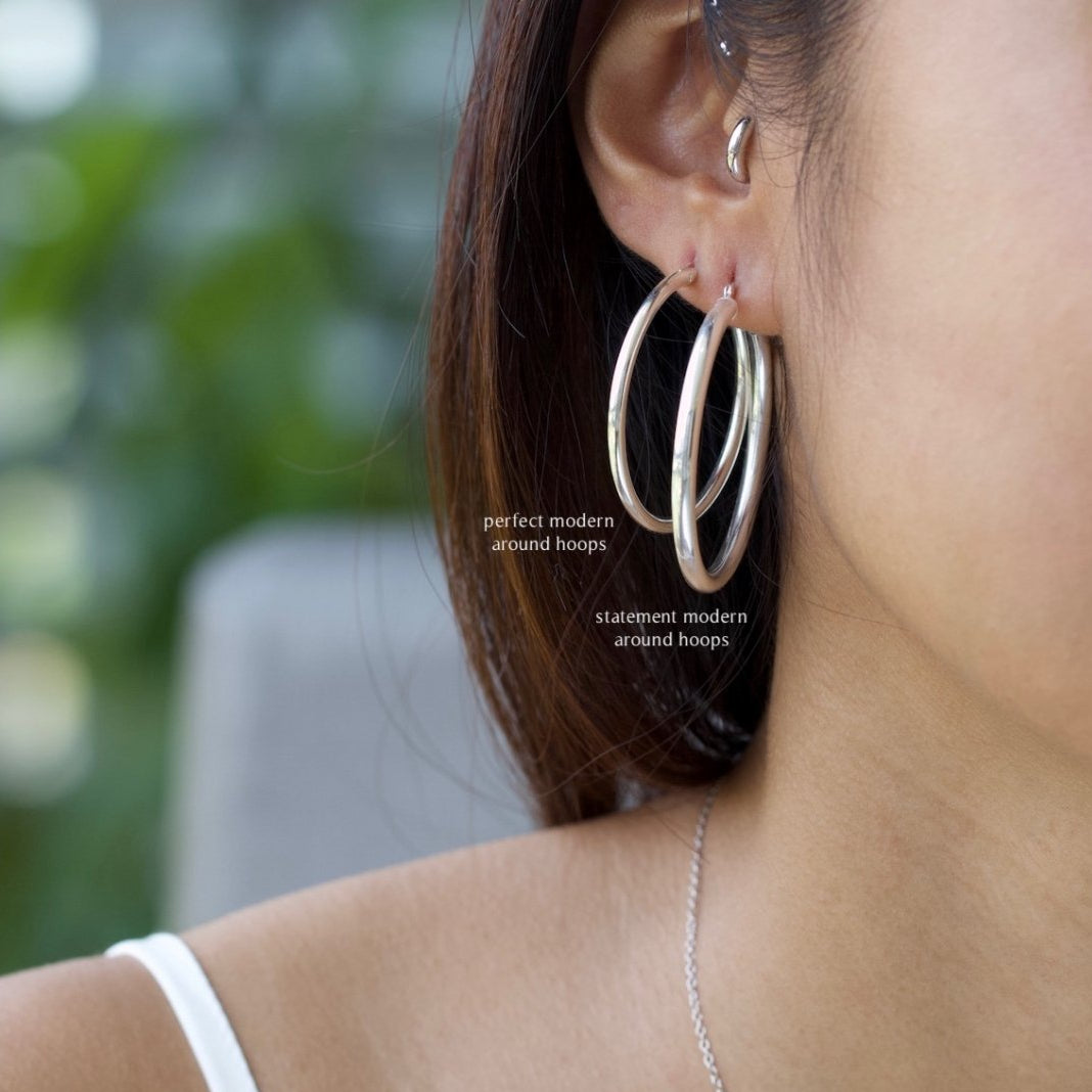 Statement Modern Around Hoops