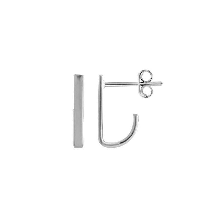 Suspender Bar Earrings