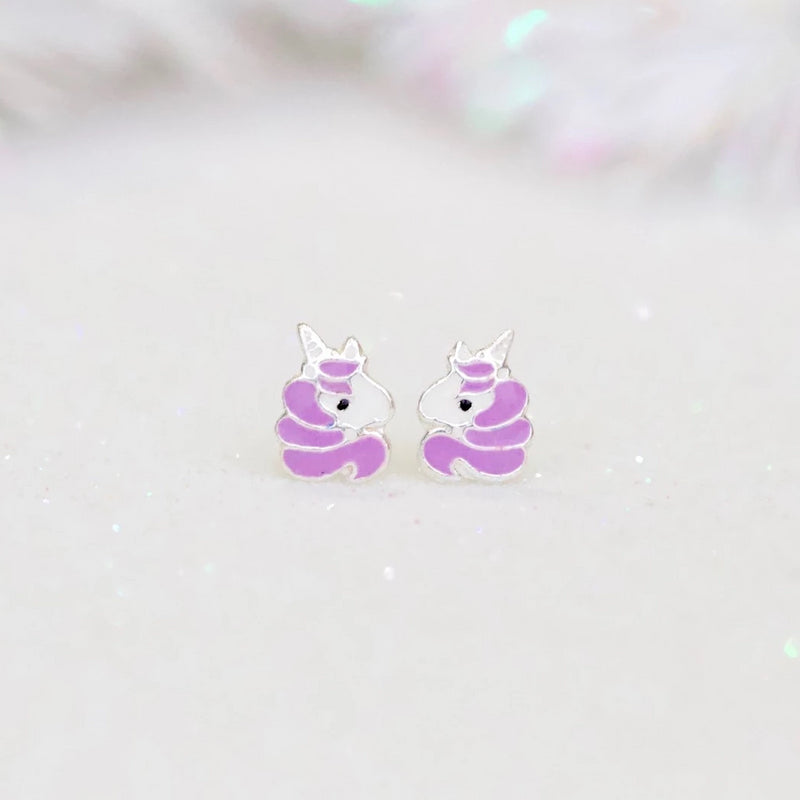Sweet Unicorn Stud Earrings