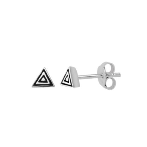 Triangle Boho Stud Earrings