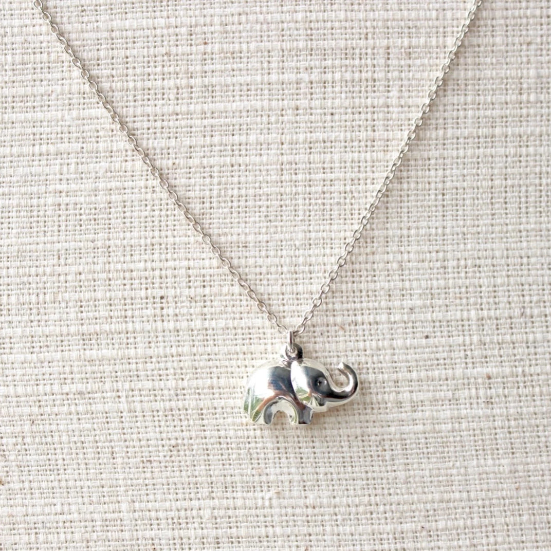 Tusk Elephant Necklace