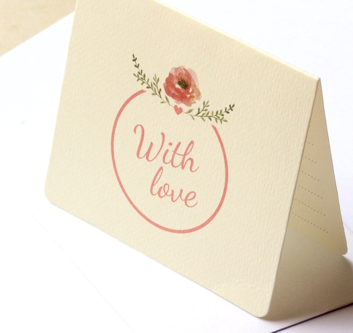 With Love Card Mini