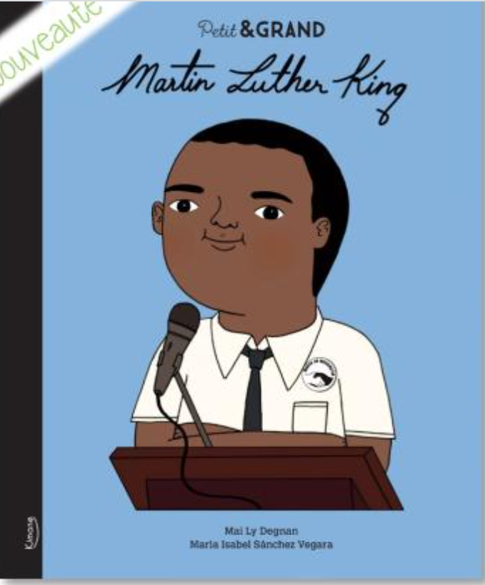 Petit & Grand - Martin Luther King (Français) Relié - MintyWendy