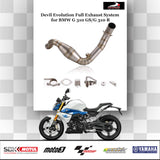 Devil Evolution Full Exhaust System for BMW G 310 GSG 310 R