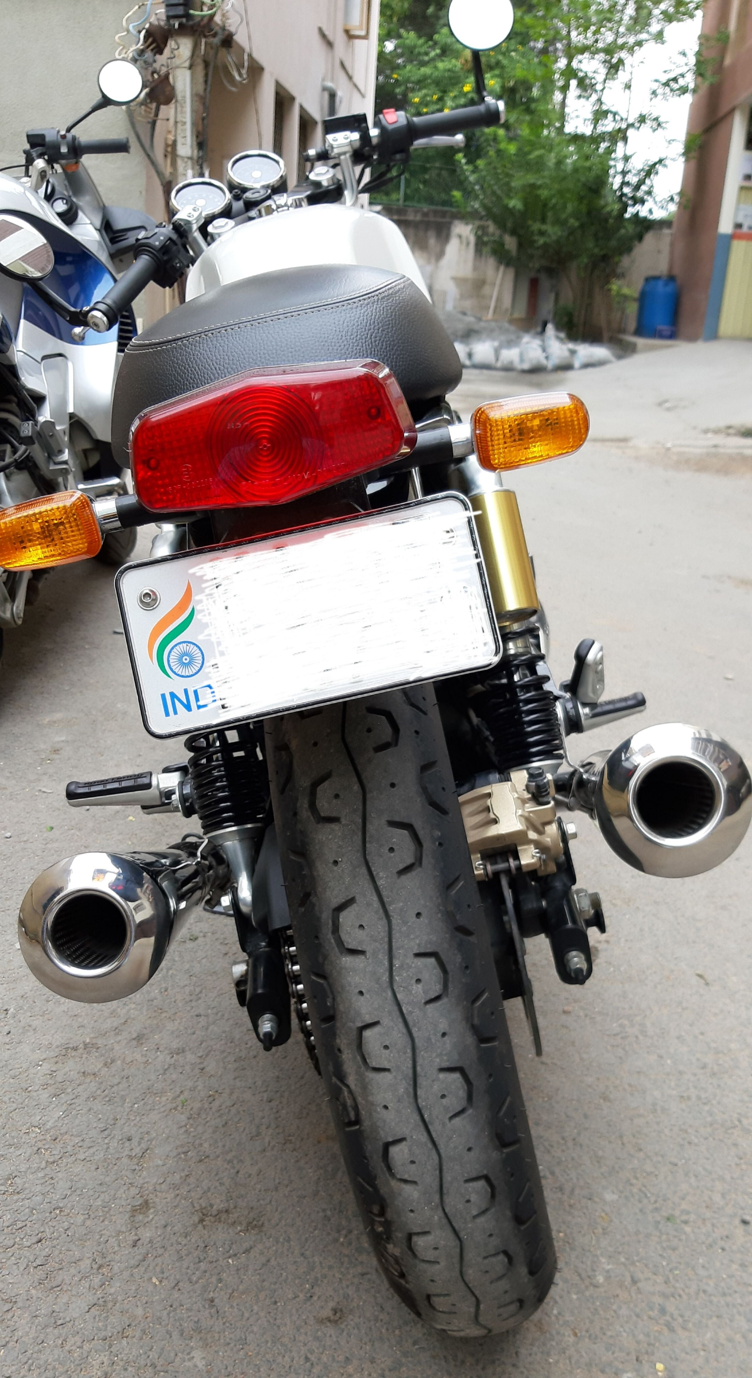 Royal Enfield Interceptor/Continental GT 650 Slip-on Exhaust