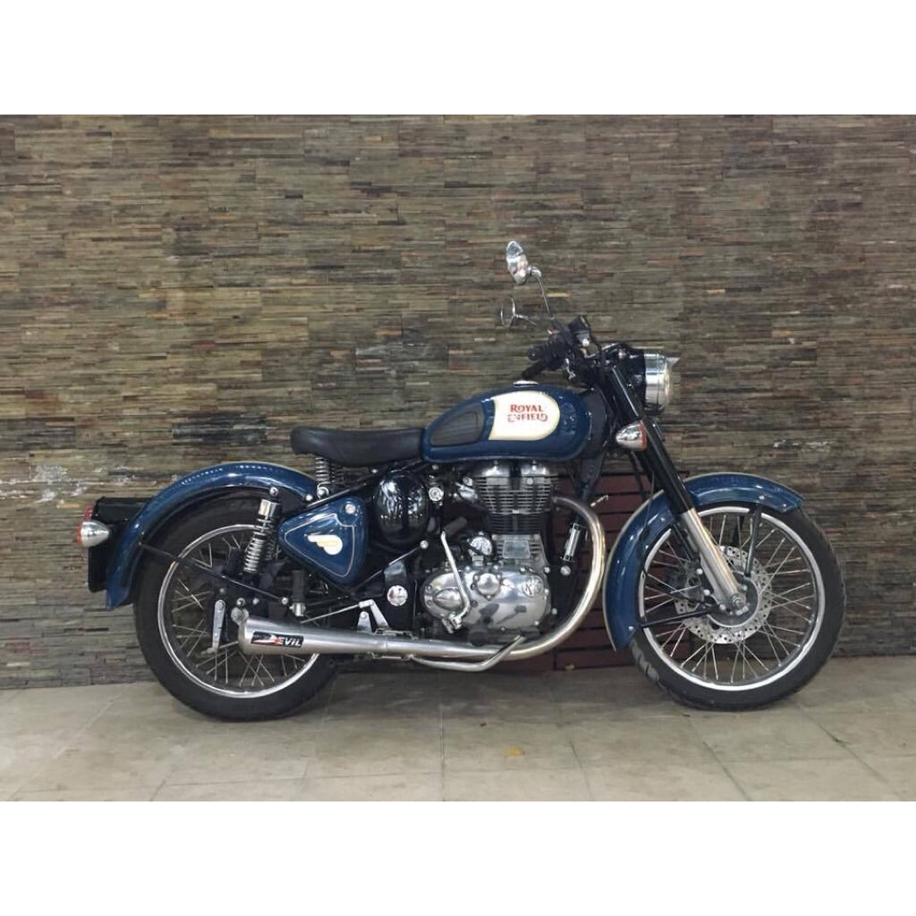 Royal Enfield Bullet/Classic 500 Slip-on - Devil Evolution India