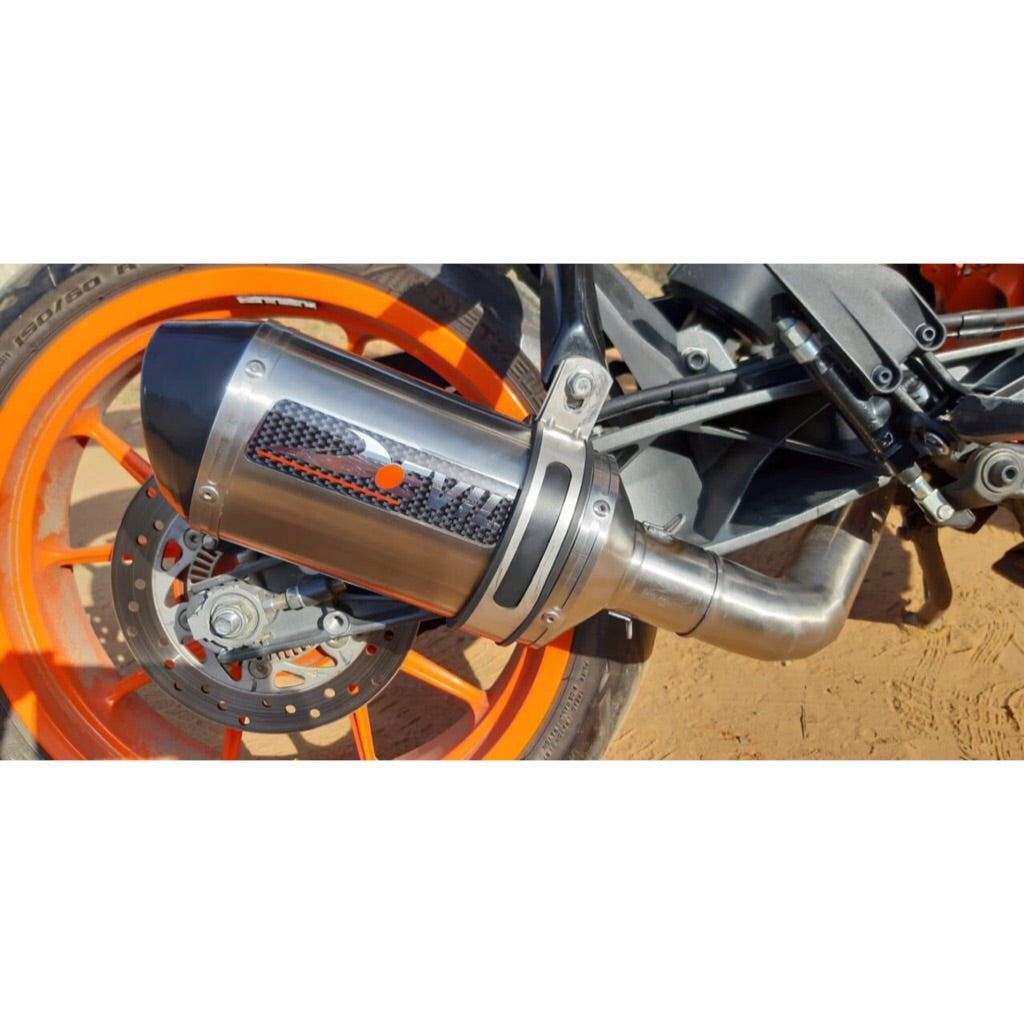 Full Exhaust System for KTM DUKE 200/RC 200