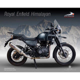 Royal Enfield Himalayan Slip-on with Mid Link Pipe - Devil Evolution India