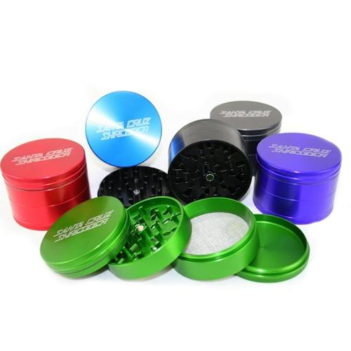 Santa Cruz Shredder 4 Piece Grinder available at Thermovape for $54.50.