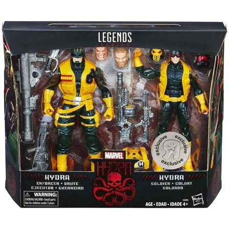 Marvel Legends Hydra Soldiers & Enforcer (Toys R Us) Exclusive Action Figure 2-Pack Set