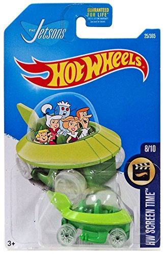 Hot Wheels, 2017 HW Screen Time, The Jetsons Capsule Car 25/365