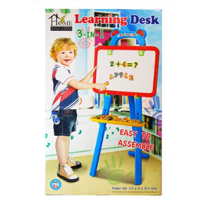 3 in 1 Learning Desk Easel Drawing Set