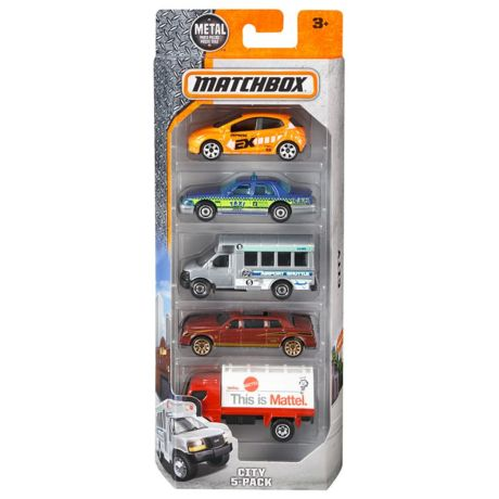 Mattel Matchbox 5-Car Pack