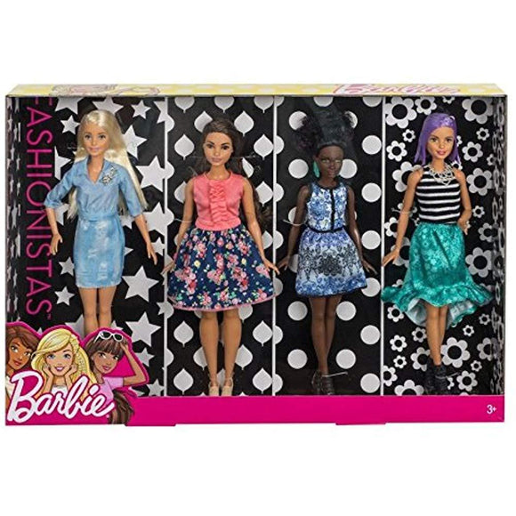Barbie Fashionistas Dolls Multipack